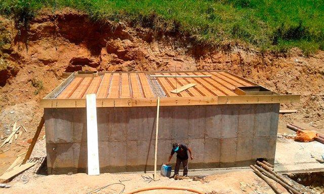 Manutenção de estação elevatória de esgoto