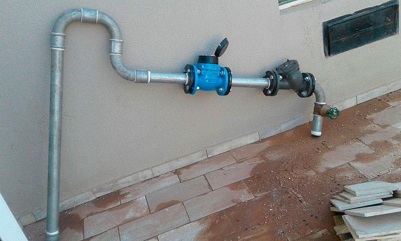 Manutenção hidráulica em condomínio