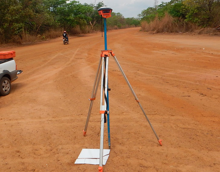 Serviços de topografia