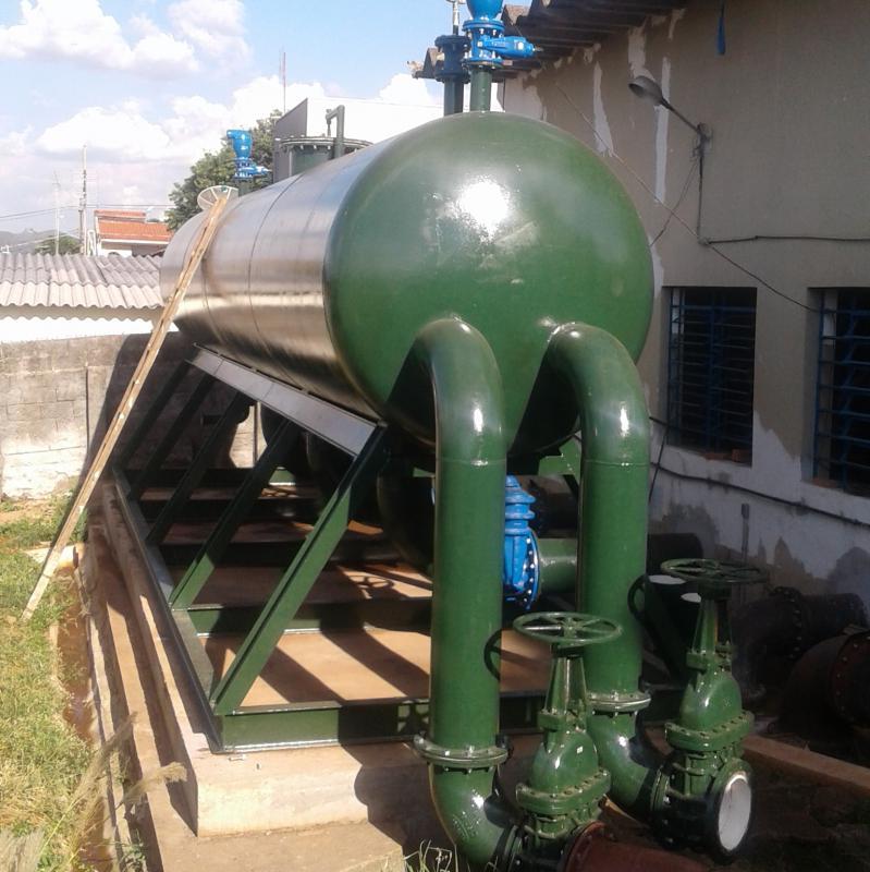 Fabricação de Peças em Aço para Saneamento