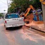 Empresa de manutenção de rede de esgoto