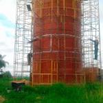 Fabricante de reservatórios metálicos