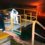 Impermeabilização de elevatória de esgoto