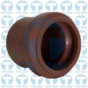 Cap pvc junta elástica ponta-bolsa-anel (PBA)