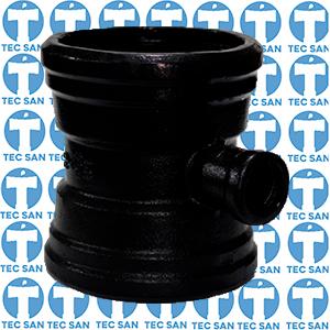 Te ferro fundido redução com bolsas JGS para ponta-bolsa-anel (PBA)