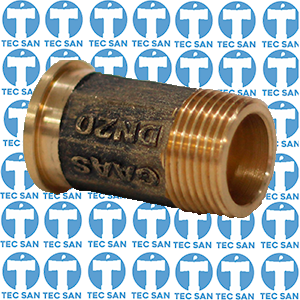 Tubete bronze para hidrômetro