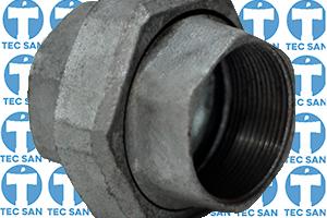 União galvanizada assento cônico de prata ou de bronze