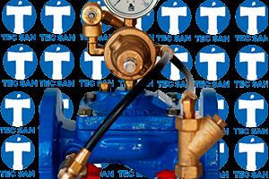 Válvula ferro fundido redutora de pressão modelo 420 flangeada