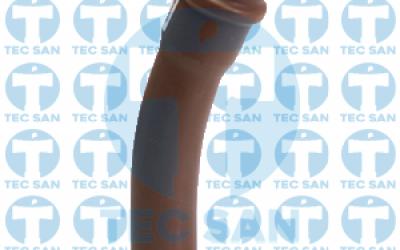 Curva 22° pvc junta elástica ponta-bolsa-anel (PBA)