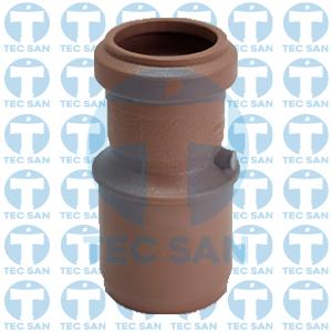 Redução pvc ponta e bolsa junta elástica ponta-bolsa-anel (PBA)
