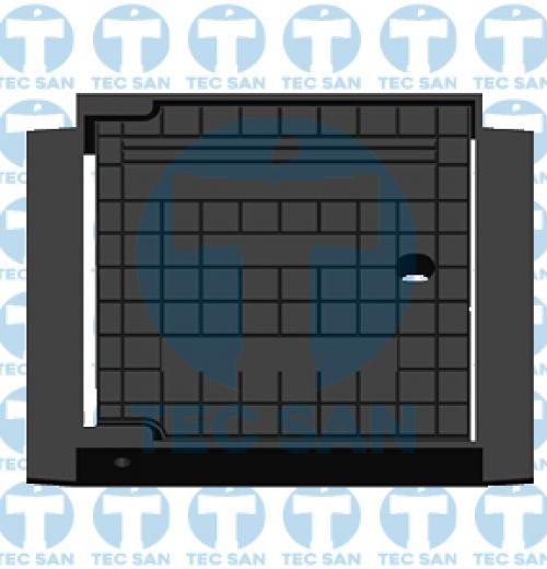 Tampão ferro fundido nodular 20×20 para Eletrica