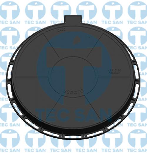 Tampão ferro fundido nodular p/ PV de 900mm, TDA 900