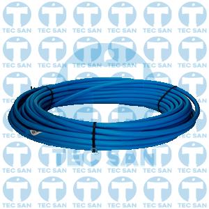Tubo pead azul para ramal