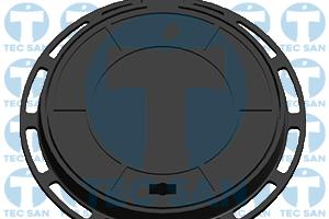 Tampão ferro fundido nodular TDA 300 para Saneamento